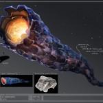 Konzeptzeichnung Doomsday Machine von Perpetual