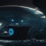 Die Enterprise im Raumdock